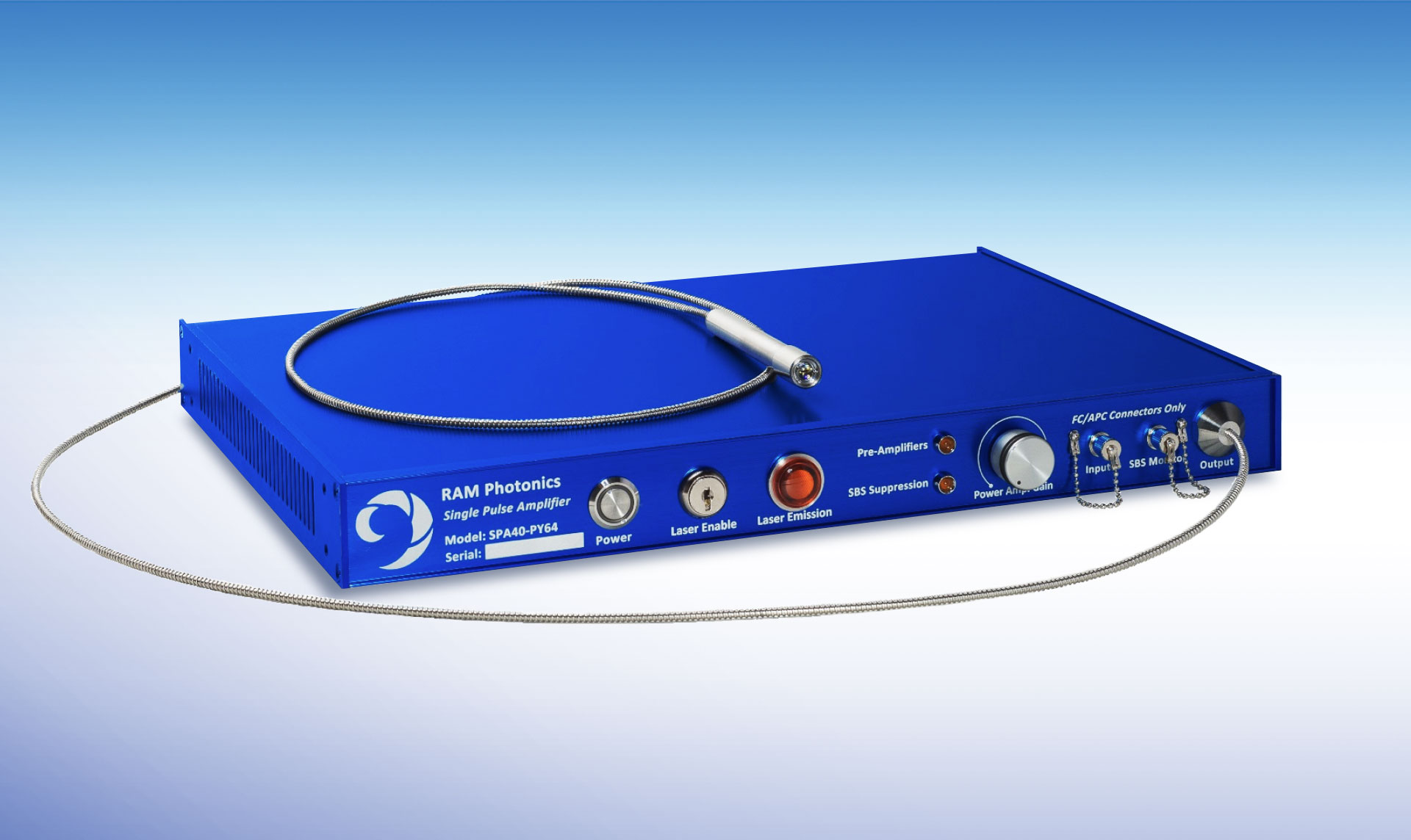 SPA-Single-Pulse-Fiber-Amplifier